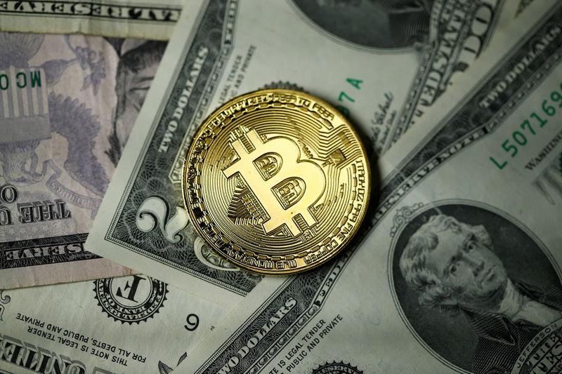 © Reuters. Bitcoin décline de 10% dans un marché baissier
