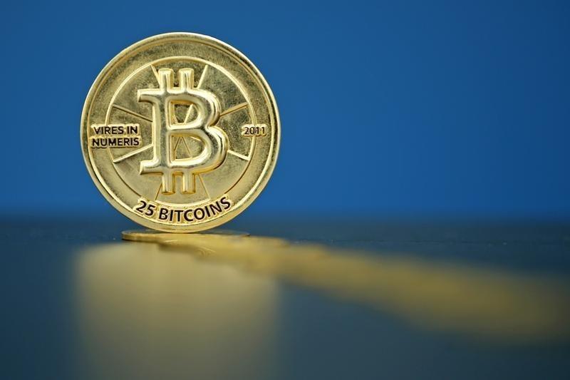 © Reuters.  Bitcoin affiche un recul de 10% dans un marché baissier
