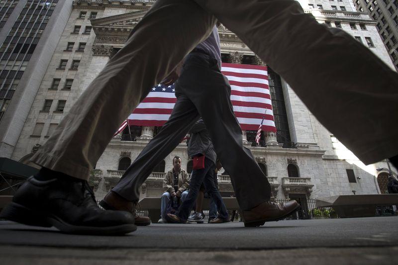 © Reuters.  États-Unis: Les marchés actions finissent en baisse; l'indice Dow Jones Industrial Average recule de 0,27%