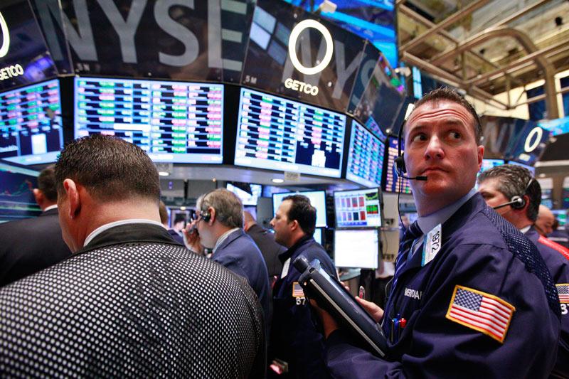 États-Unis: Les marchés actions finissent en hausse; l'indice Dow Jones Industrial Average gagne 1,21%
