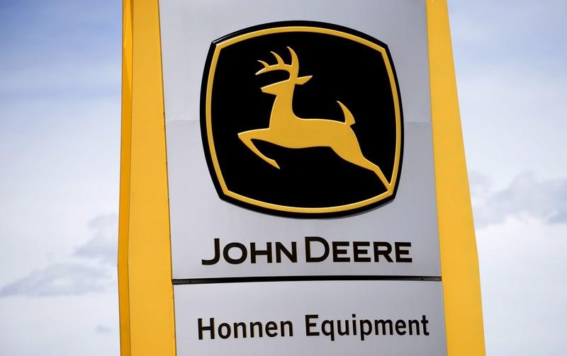 © Reuters. DEERE & CO À SUIVRE À WALL STREET