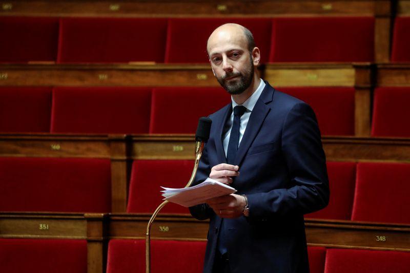© Reuters. GUERINI PLAIDE L'UNITÉ FACE AUX MENACES DE SCISSION À LAREM
