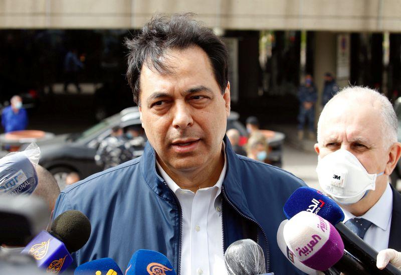 © Reuters. LIBAN: LES BANQUES REJETTENT LE PLAN DE SAUVETAGE ÉCONOMIQUE DU GOUVERNEMENT