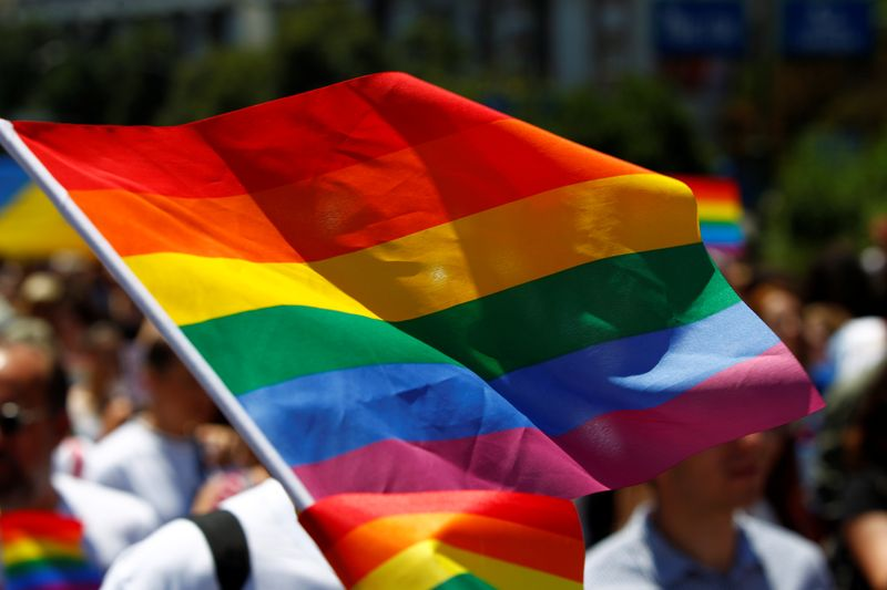 © Reuters. NOUVELLE PROGRESSION DES VIOLENCES ANTI-LGBT EN 2019 EN FRANCE