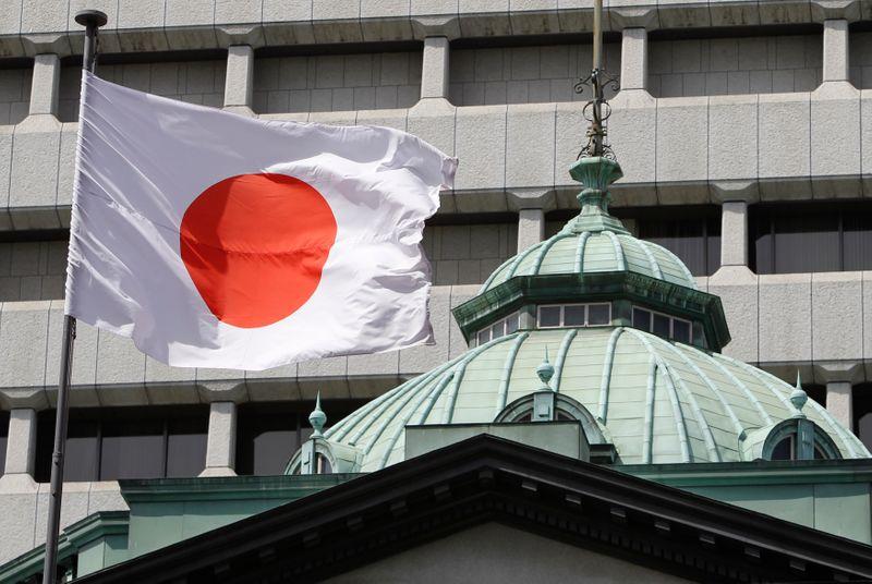 © Reuters. LE JAPON RELÈVE SES PRÉVISIONS ÉCONOMIQUES POUR LA PREMIÈRE FOIS DEPUIS 2018