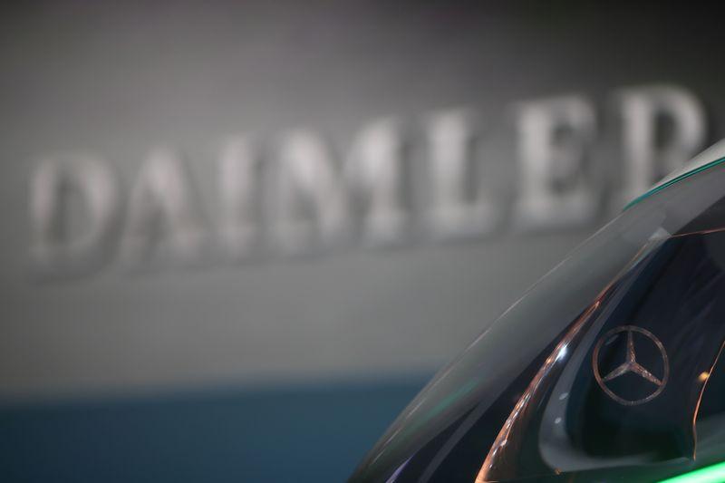 © Reuters. DAIMLER, À SUIVRE À LA BOURSE DE FRANCFORT