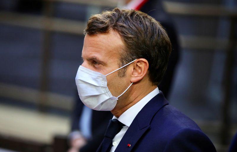 © Reuters. UE: MACRON