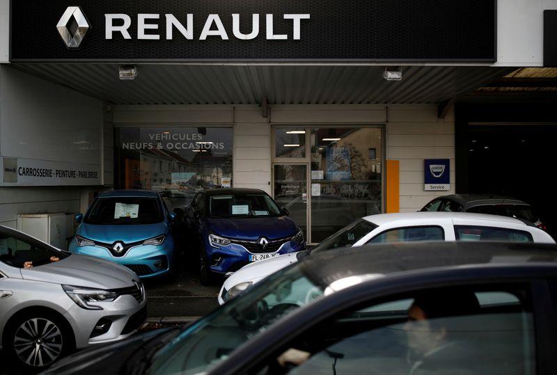 © Reuters. RENAULT: PERTE NETTE RECORD AU 1ER SEMESTRE AVEC NISSAN ET LE COVID