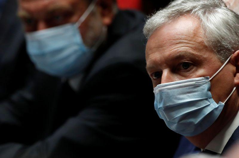 © Reuters. TRENTE MILLIARDS D'EUROS CONSACRÉS À LA TRANSITION ÉCOLOGIQUE