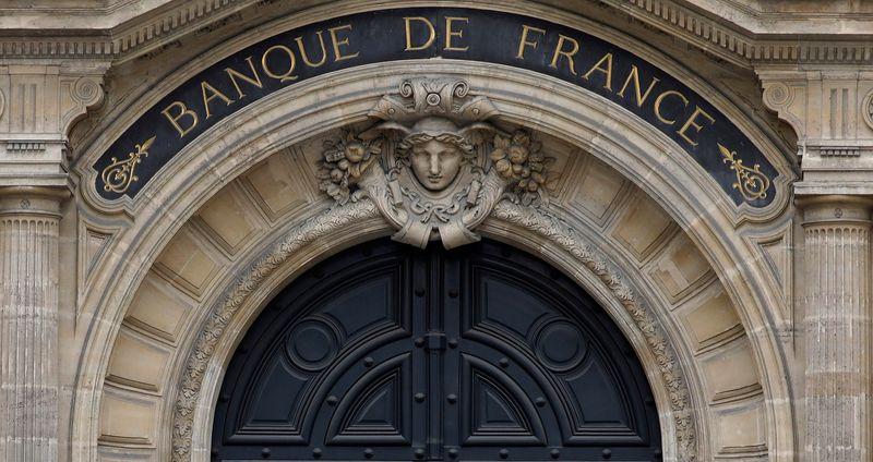 © Reuters. EN REPRISE MODÉRÉE, L'ÉCONOMIE FRANÇAISE RESTE 7% EN DEÇÀ DE LA NORMALE, RAPPORTE LA BANQUE DE FRANCE