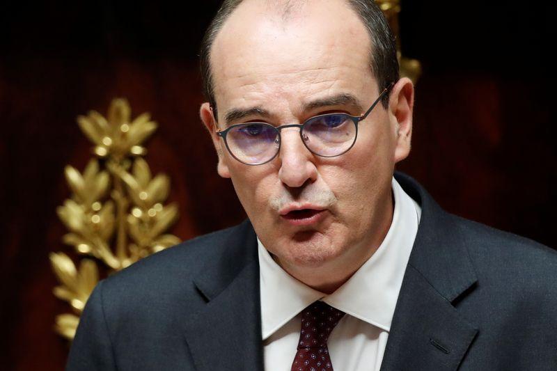 © Reuters. FRANCE: LE PLAN DE RELANCE ÉCONOMIQUE DÉVOILÉ LE 3 SEPTEMBRE, DIT CASTEX