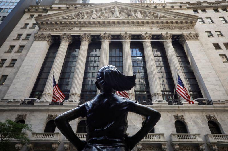 © Reuters. RECORD HISTORIQUE POUR LE S&P-500 À WALL STREET