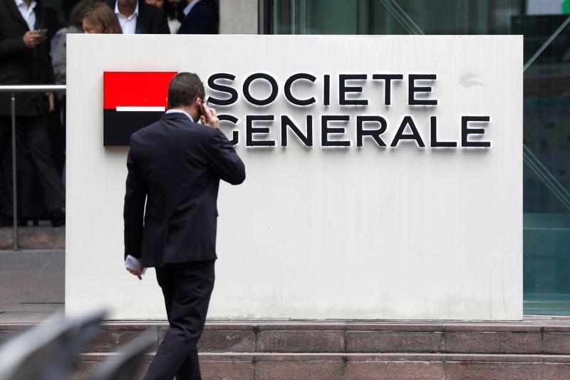 © Reuters. SOCIÉTÉ GÉNÉRALE VEUT FUSIONNER SES DEUX RÉSEAUX BANCAIRES SOCIÉTÉ GÉNÉRALE ET CRÉDIT DU NORD
