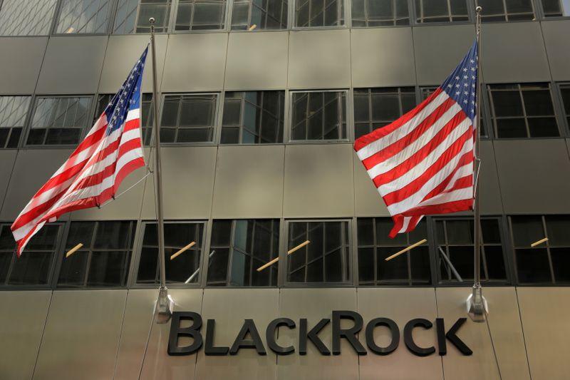 © Reuters. BLACKROCK, À SUIVRE À WALL STREET