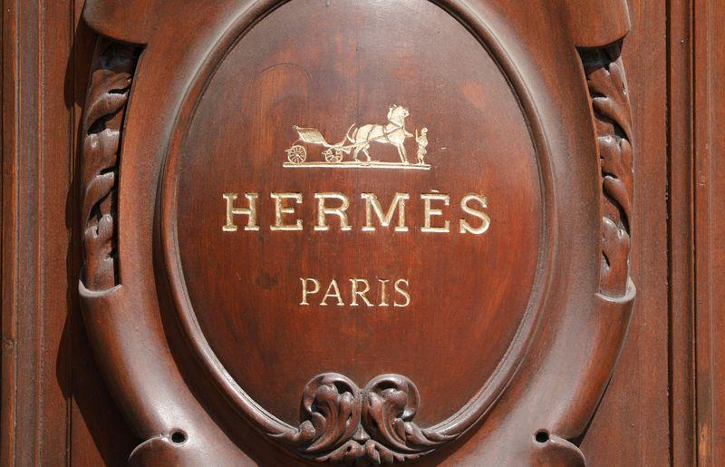 © Reuters. HERMÈS FAIT ÉTAT D'UN NET REBOND DE SON ACTIVITÉ AU T3
