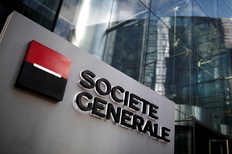 © Reuters. SOCIÉTÉ GÉNÉRALE À SUIVRE À LA BOURSE DE PARIS