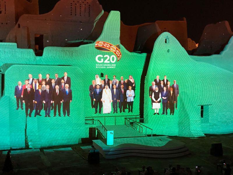 © Reuters. LE G20 VA DISCUTER MONDE POST-PANDÉMIE, ALLÉGEMENT DE LA DETTE ET COMBAT POUR LE CLIMAT