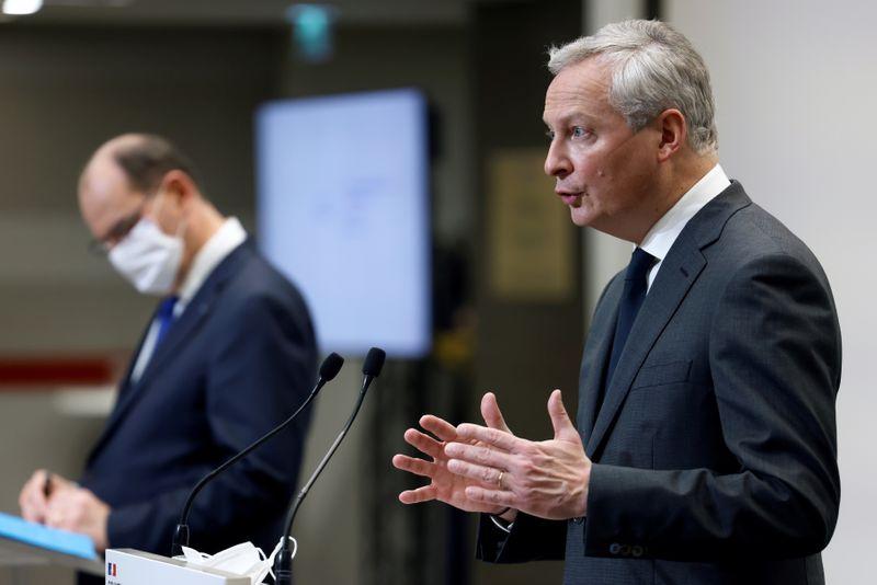 © Reuters. BRUNO LE MAIRE FAVORABLE À DES QUOTAS POUR FAVORISER LES FEMMES À LA DIRECTION DES GRANDES ENTREPRISES