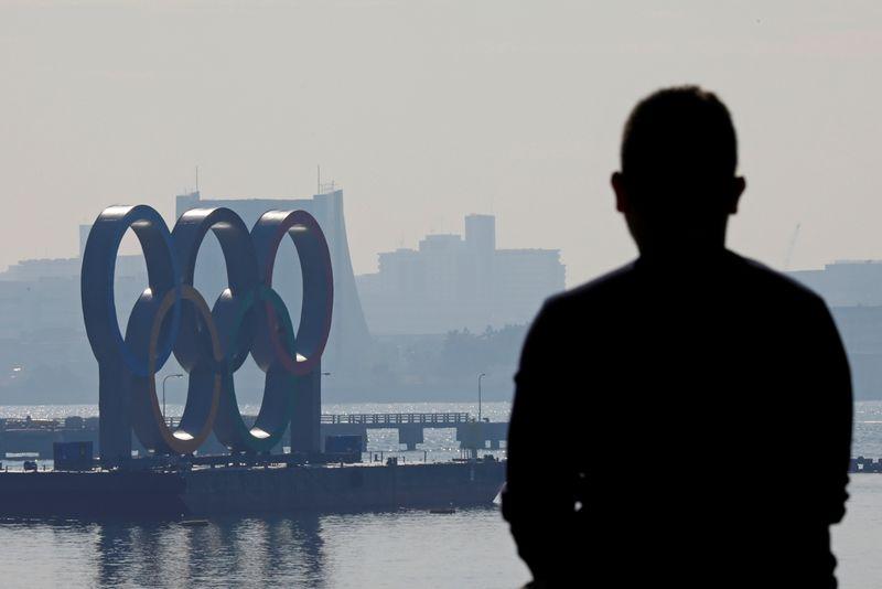 © Reuters. TOKYO RÉSIGNÉ À DEVOIR ANNULER LES JO À CAUSE DU CORONAVIRUS