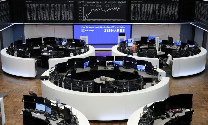 Les actions à la hausse avec la baisse des rendements obligataires