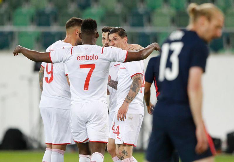 La Suisse s'impose en match amical face aux États-Unis
