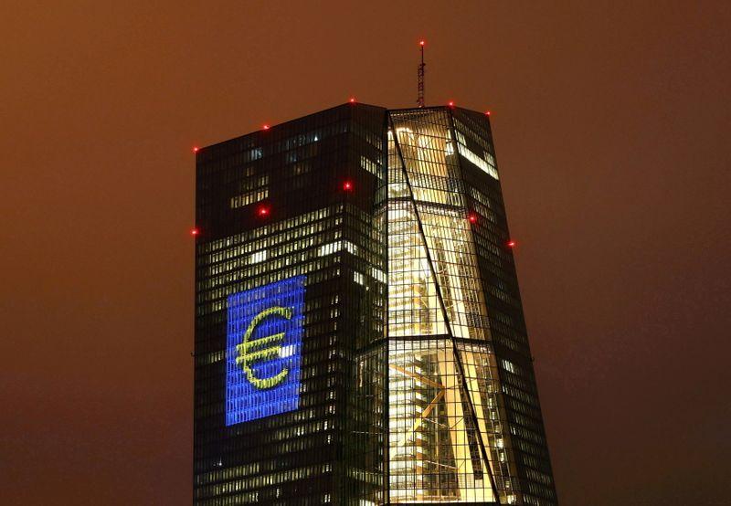 La BCE est plus optimiste mais garde une