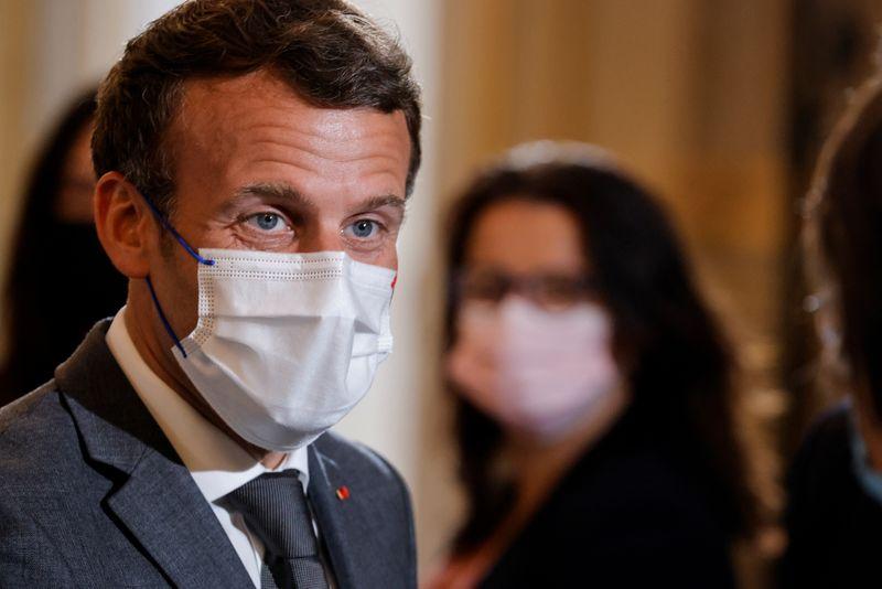 Sévère condamnation contre l'homme qui a giflé Macron
