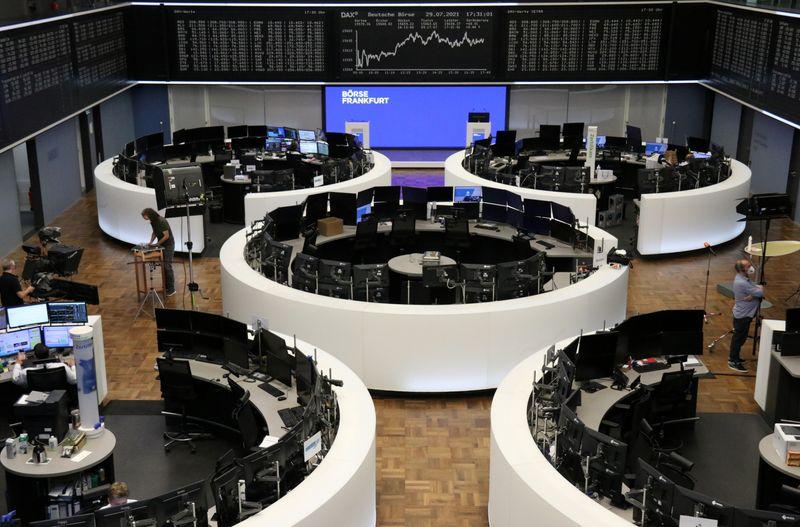 Les Bourses en Europe au plus haut, portées par les résultats