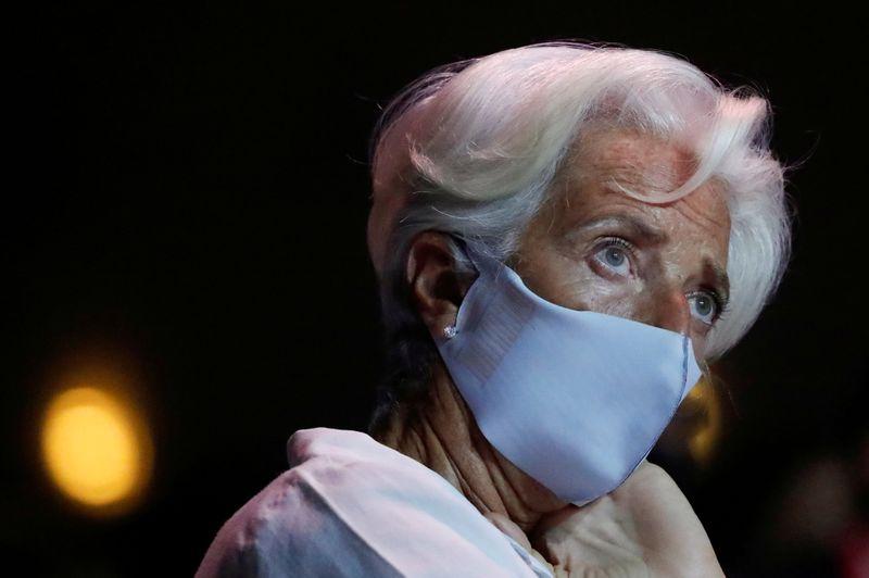 Le risque d'une inflation plus forte que prévu limité, annonce Lagarde (BCE)