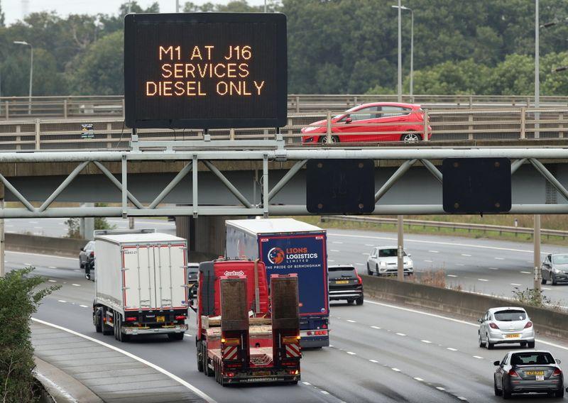 Grande-Bretagne : Encore des pénuries de carburants dans une partie de l'Angleterre