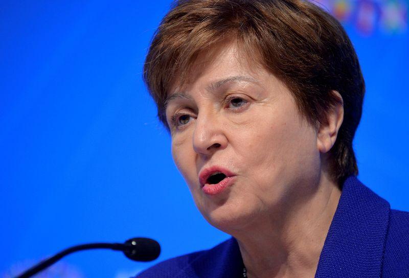 FMI: Le conseil d'administration décidera ce lundi de l'avenir de Georgieva, selon des sources
