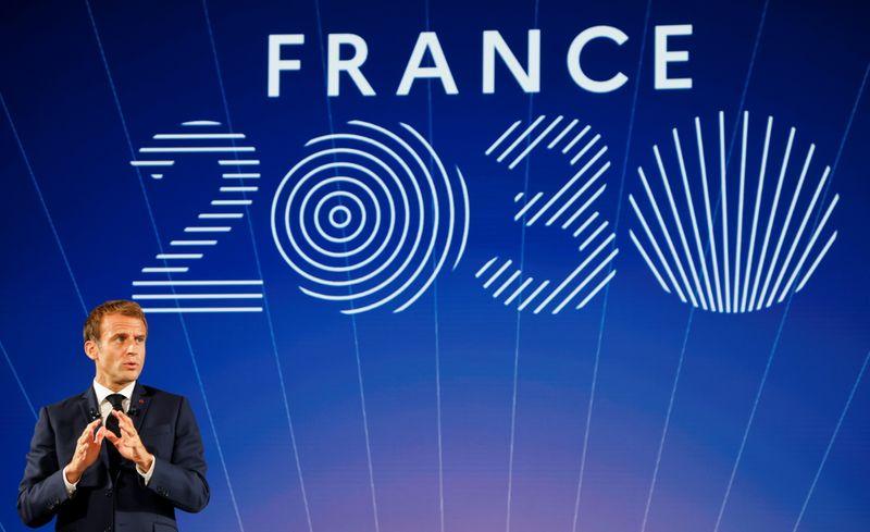 Macron dévoile le plan d'investissement de 30 milliards d'euros